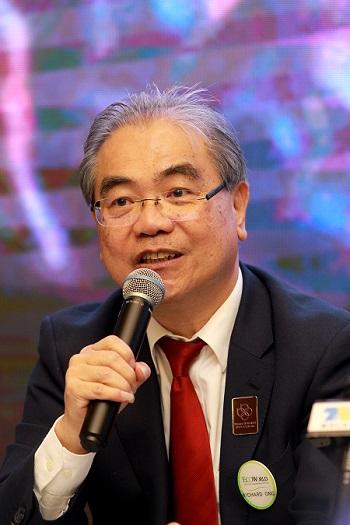 Kuala Lumpur, Feb 10 2017 -  BBCC Deveploement Sdn Bhd CEO Datuk Richard Ong. Photo by Shahrin Yahya